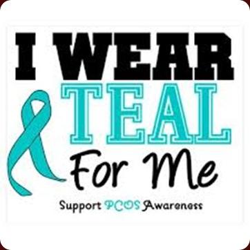 i wear teal for me
