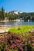 Shadow Lake and Mt Lassen