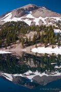 Mt. Lassen and Lake Helen