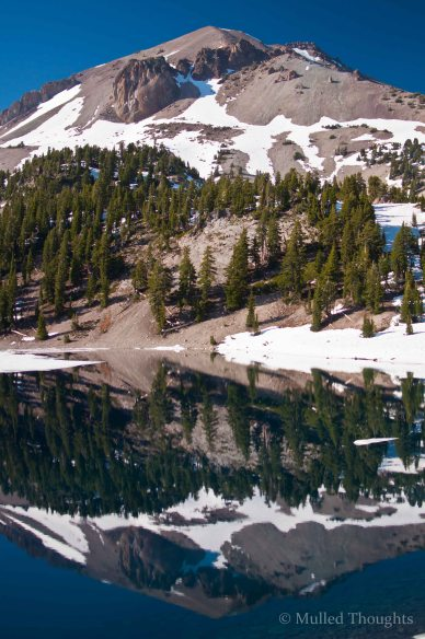 Mt. Lassen and Lake Helen