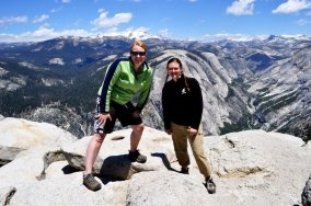 Bethany and I on top of Half Dome